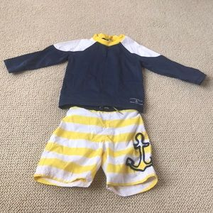 Janie and jack swim set
